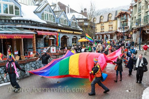 Winter Pride Parade 2013