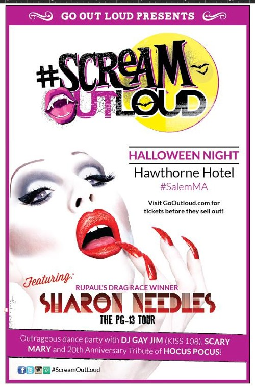 #ScreamOutLoud - Boston, MA - Halloween Night